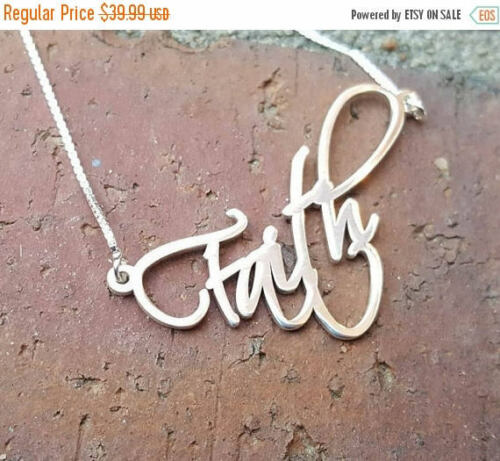 Becca Name Necklace Silver nameplate chain New Store Sale // Order any name!