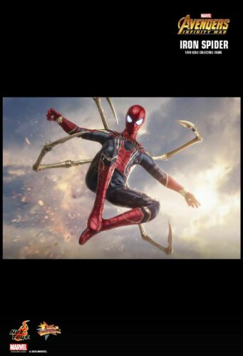 LAYBY NEW MISB PRICE = $699.99 HOT TOYS 1//6 IRON SPIDER AVENGERS INFINITY WAR