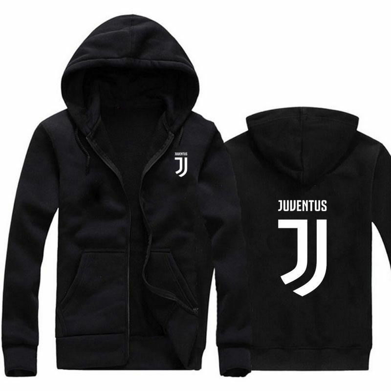 2017 Man women Juventus print Sportswear Hoodies male Hip Hop Fleece Long Sleeve