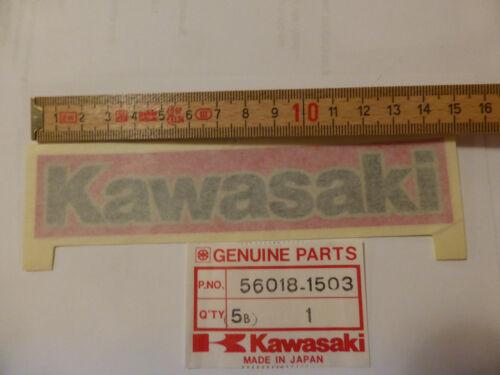 Ninja Fairing Emblem Decal Label 56018-1503 NOS 84 Kawasaki ZX GPZ 900 R
