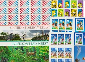 U.S. Discount Postage - $ 35.80 - Complete panes - see scan