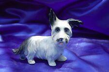 Antique Porcelain Germany Skye Terrier Scottish terrier dog Whimsical Erphila