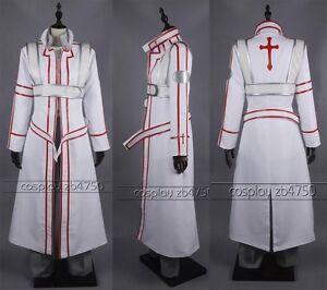 7866257f7efa Details about Sword Art Online Kazuto Kirigaya kirito cosplay costume -  Knights of the Blood