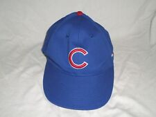 0a01ee856e6 Chicago Cubs Hat Adjustable Strap Blue Red Logo OC Sports Baseball Cap OSFM