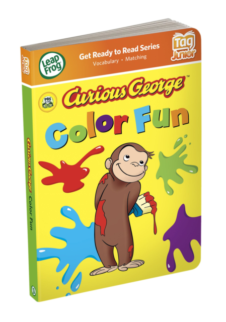 LeapFrog Tag Junior Interactive Book Curious George Color Fun For Sale  Online EBay