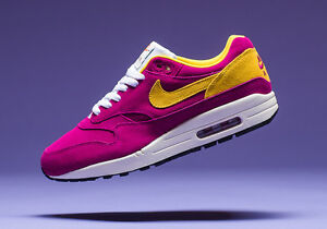 Details about 2017 Nike Air Max 1 Premium SZ 8.5 Dynamic Berry 30th Anniversary QS 875844 500