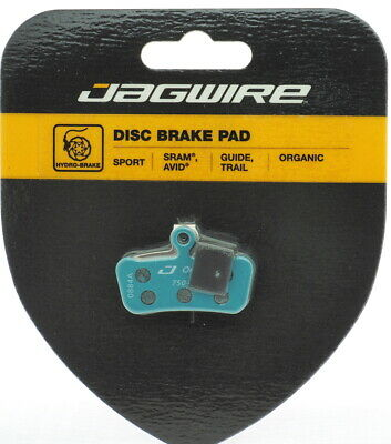 New Jagwire Sport Organic Disc Brake Pads for SRAM Guide RSC RS R Avid Trail