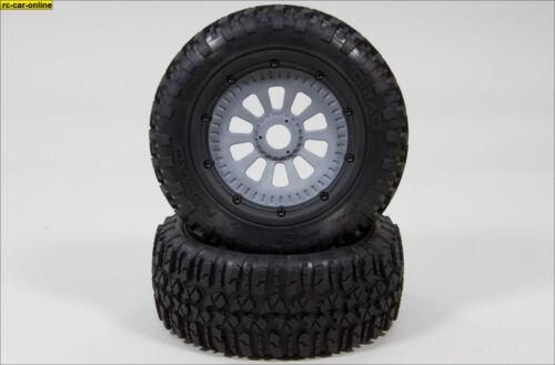 - LOSB 7243//05 weich 5T 2 St Nomad Reifen komplett montiert für vorne//hinten