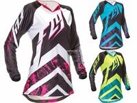 Fly Racing Kinetic Women's Girl's Lady's Riding Jersey Motocross Mx Atv Gear '16