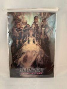 Final-Fantasy-XII-Zodiac-edad-Promo-3D-Tarjeta-Lenticular-Totalmente-Nuevo-Y-Sellado