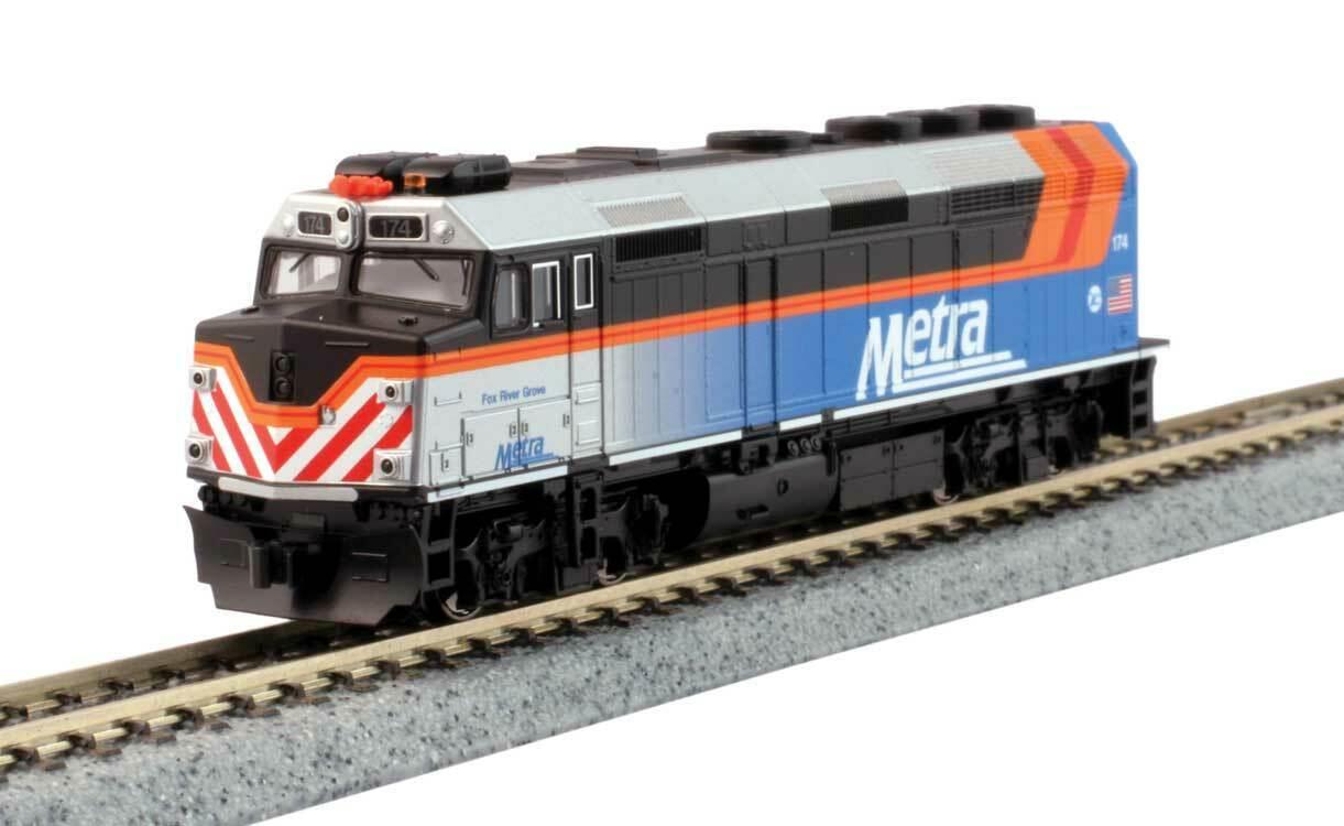 Spur N - Kato Diesellok F40PH Metra -- 176-9105 NEU