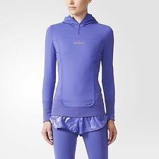 new adidas STELLA McCARTNEY Essentials Long Sleeve Tee sz XS Running Shirt Hoody