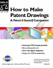 How To Make Patent Drawings: A Patent It Yourself Companion 4th Editio-ExLibrary