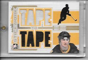 2013-14-Sidney-Crosby-Mario-Lemieux-ITG-Stickwork-Tape-to-Tape-Gold-TRUE-1-1