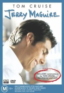 Jerry-Maguire-R4-DVD-2005-Tom-Cruise-GC-FREE-POST