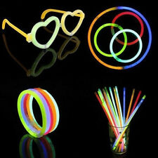 50 Pcs Glow Sticks Bracelets Necklaces Fluorescent Neon Party Marvelous