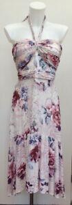 BNWT-Rrp-65-Lipsy-Alba-Tier-Pink-Floral-Chiffon-Halter-Occasion-Midi-Dress-12