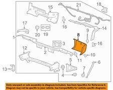 GM OEM Rear Bumper-End Cap Right 15284308