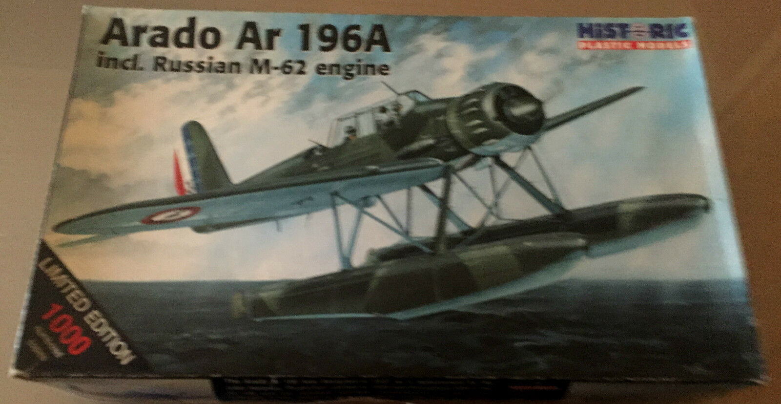 HISTORIC PLASTIC MODELS 48-502 - 1 1 1 48 ARADO Ar 196A LIMITED EDITION 8637b6