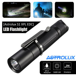 Astrolux-S1-XPL-LED-18350-18650-1600LM-7-4-modes-Extension-Tube-Flashlight-gift