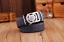 105 cm 125 cm Luxury Ledergürtel Herren Echtleder Automatik Wolf-Schnalle