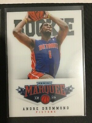 Sports Mem, Cards & Fan Shop Basketball Cards Contemplative 2012-13 Marquee White Petg Group V Rookies #486 Andre Drummond