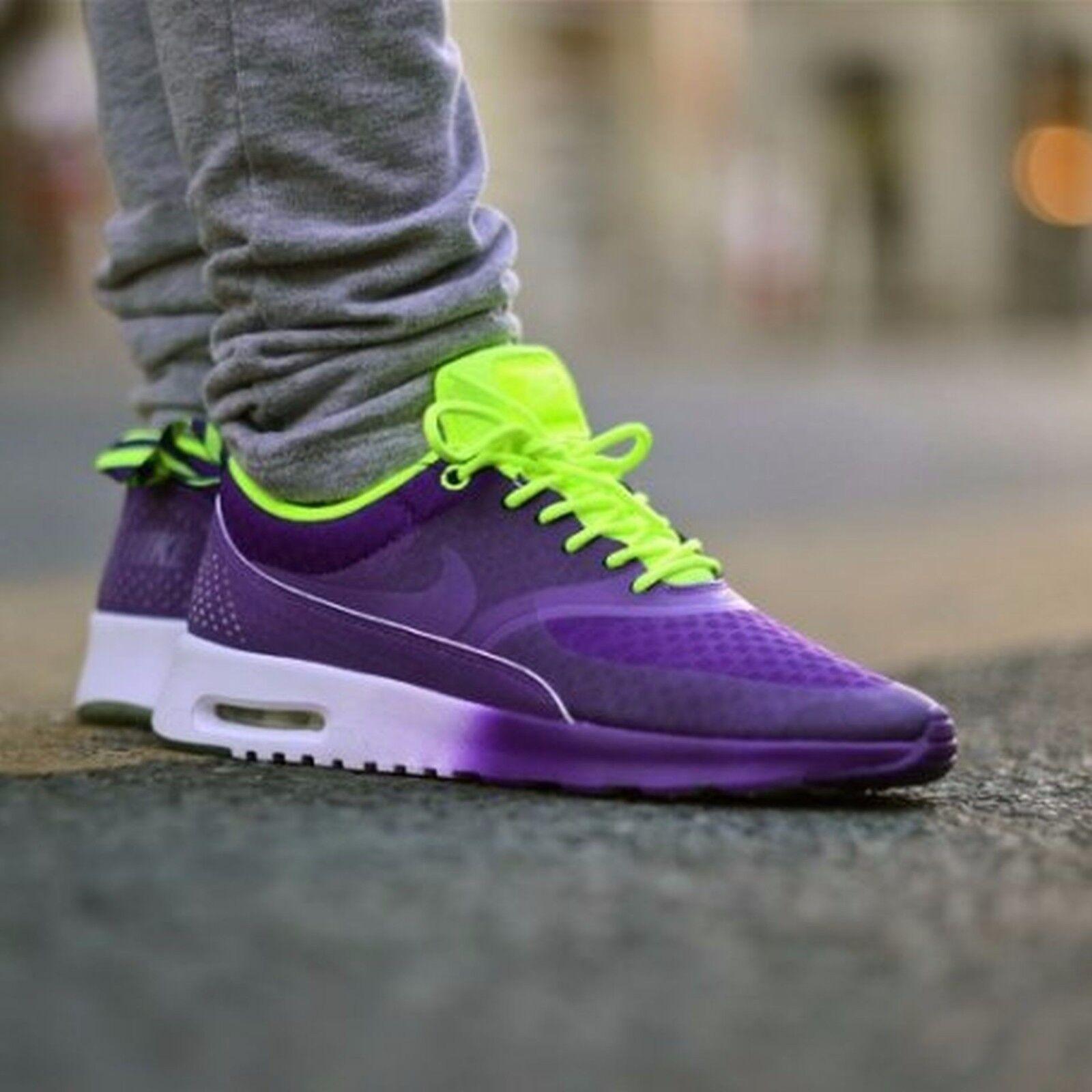 5a67e1d8cf Nike Air Max Thea Woven QS Quickstrike Womens Size 6 627249-500 Electric  Purple