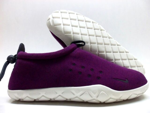Nike Air MOC Fleece Mens Shoes 10 Mulberry Summit White 834591 510