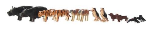 ARCHE NOAH Ergänzung-1 NEU Erzgebirge Reifentiere Tiere Volkskunst Holz 12teilig