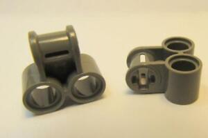 LEGO Parts~ 6 Technic Axle /& Pin Connector Perpendicular 3L w 2 42003 BLACK