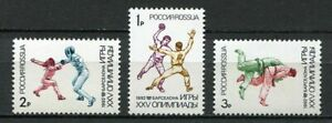 30600-RUSSIA-1992-MNH-Olympic-Games-Barcelona-3v
