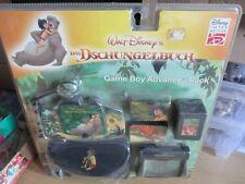Nintendo Game Boy Advance Pack Dschungelbuch AKKU Ladekabel Tasche Lupe etc. OVP