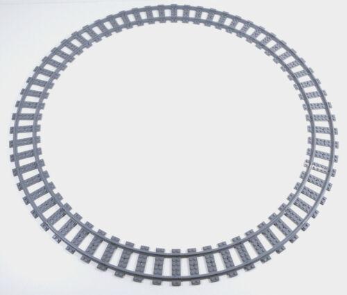 Lego ® City ferrocarril raíles círculo 16x parecían curvo