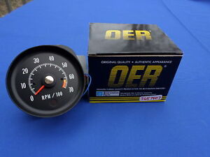 NEW-1971-Chevelle-SS-Monte-Carlo-Tachometer-454-425hp-LS6-OER-Parts-5657407