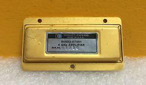 HP / Agilent 86603-67001 4 GHz Amplifier