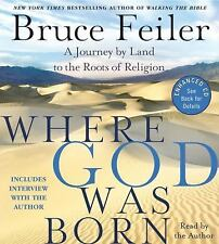 Where God Was Born CD: A Journey by Land to the Roots of Religion - LikeNew - Fe