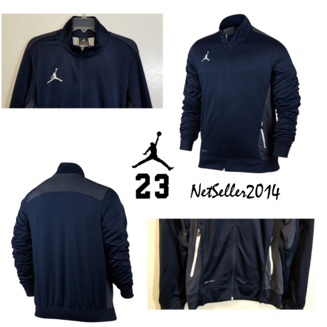 6660e5791a73 SZ SMALL 🔥🆕 Nike Men s Air Jordan Flight Team Dri-Fit Jacket 696736-