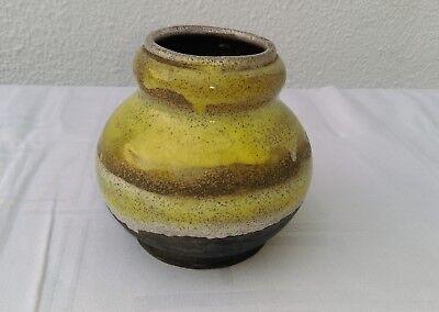 Ancien Vase Art DÉco En GrÈs De Francis Bichoff (1876-1945) Signé Siempre Compra Bien