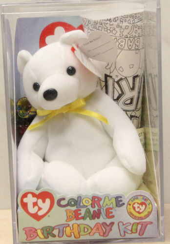 Ty Beanie Baby Color me Bear MWMT