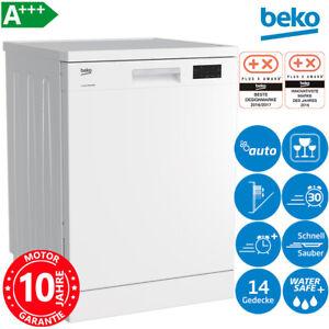 Beko A+++ Stand Geschirrspüler 60cm Geschirr Spülmaschine Unterbaufähig Inverter