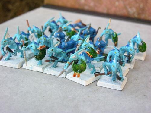 scinque des guerriers multi-annonce plastique Warhammer hommes lézards armée