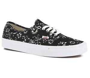 7a2c9039c0 Vans Authentic (Indigo) Black Denim True White Men s Skate Shoes ...