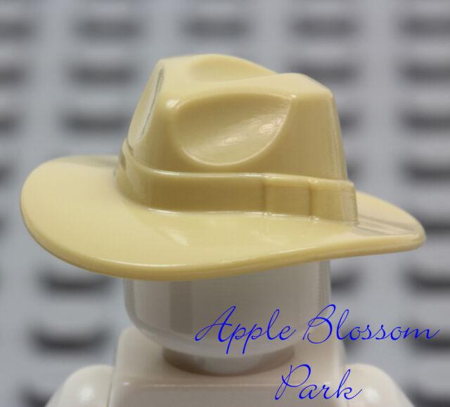 Outback Indiana Jones Minifig//Minifigure Head Gear NEW Lego TAN FEDORA HAT
