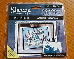 New Sheena Douglass Die  039Winter Scene039  Create amp Craft Crafters Companion - <span itemprop=availableAtOrFrom>Leeds, United Kingdom</span> - New Sheena Douglass Die  039Winter Scene039  Create amp Craft Crafters Companion - Leeds, United Kingdom