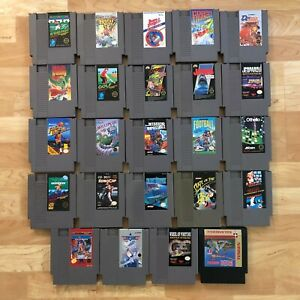 Lot-of-24-Nintendo-Entertainment-System-NES-Games-Great-Condition-Used-C06
