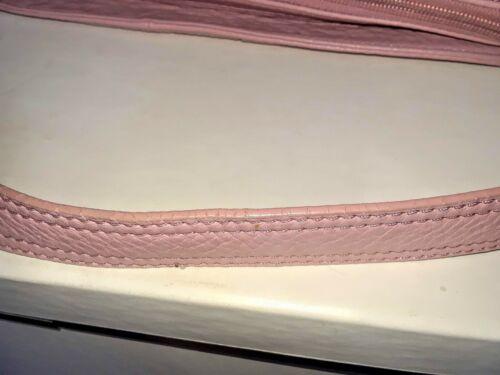 Wilsons cuero bandolera de rosa Bolso de vintage xp4twYpq6