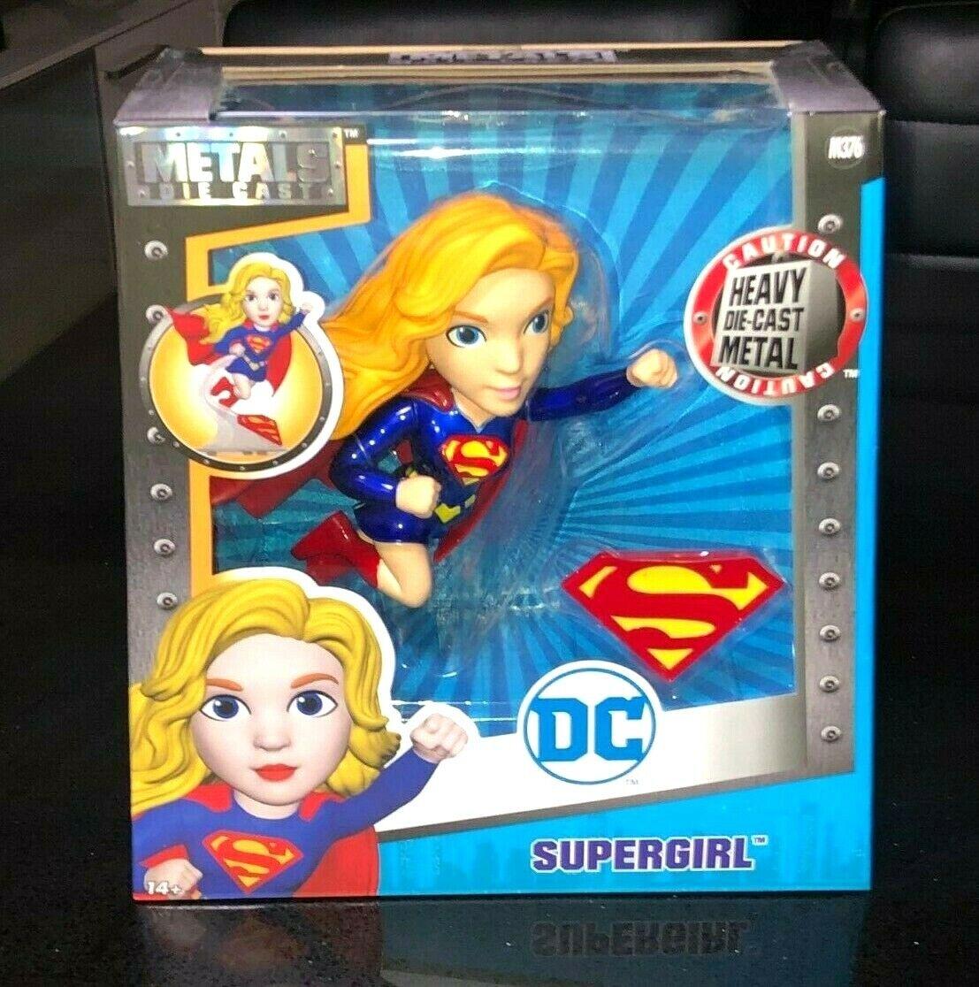 Supergirl - Metals Metals Metals Die Cast DC Figure Brand new in box    df5617