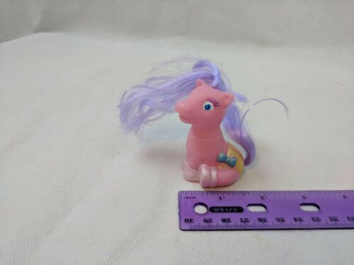 "Tara Toys Pony Luv Sitting Baby Pony 2.5/"" Tall MLP Fakie CHOOSE ONE Pink//Purple"