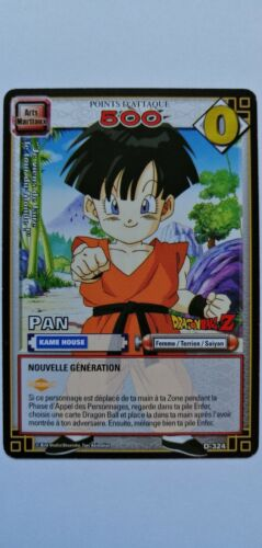Carte DRAGON BALL Z Pan D-324