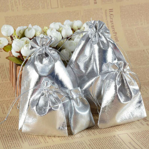 Wholesale Organza Wedding Party Favor Candy Bag Jewelry Packing Gift 20//50//100pc